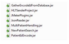 JMeter jar files
